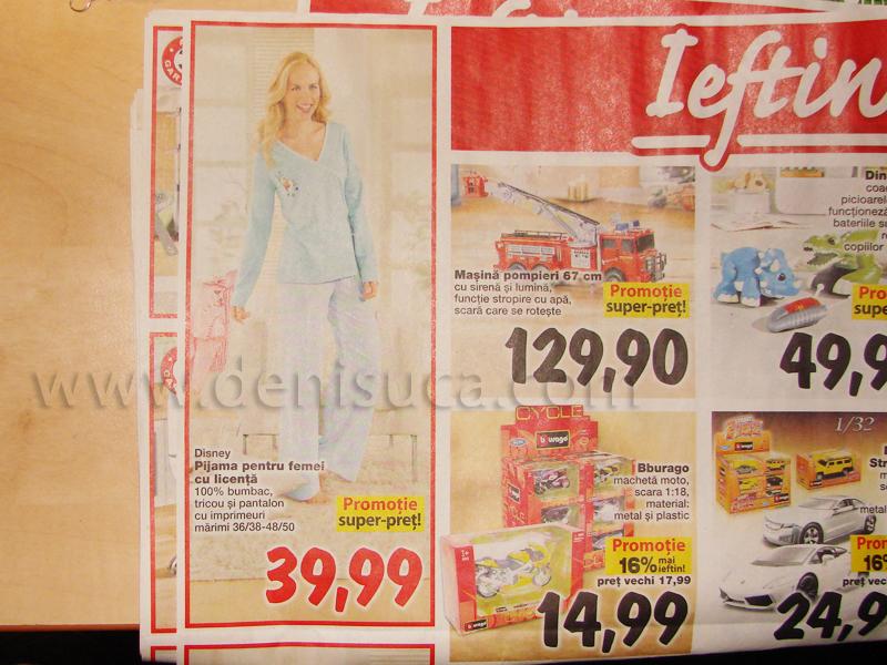 kaufland - pijama pentru femei cu licenta