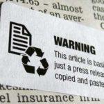 Avertismente pentru cititorii de gazete