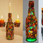 Bijucăria săptămânii XI: reciclare artistică a sticlelor de Grolsch