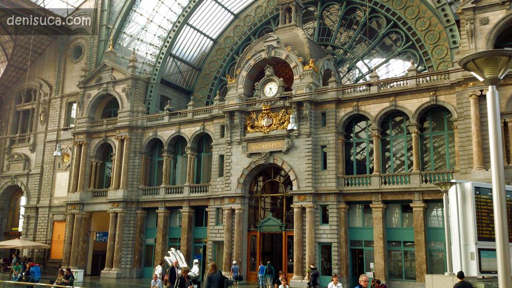 Gara din Antwerp, Belgia