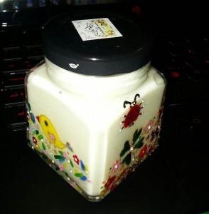 Cremă cu aromă de frăguţe, de la Handmade Sister