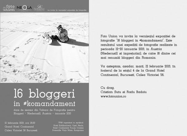 Expoziţie fotounion #komandament