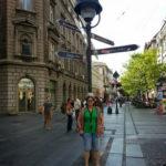 Eu în Belgrad, iulie 2013