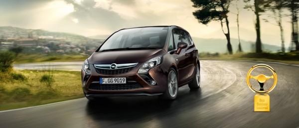 Opel Zafira Tourer Exterior View