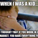 Când lucrezi la supermarket, ce gratuităţi ai?