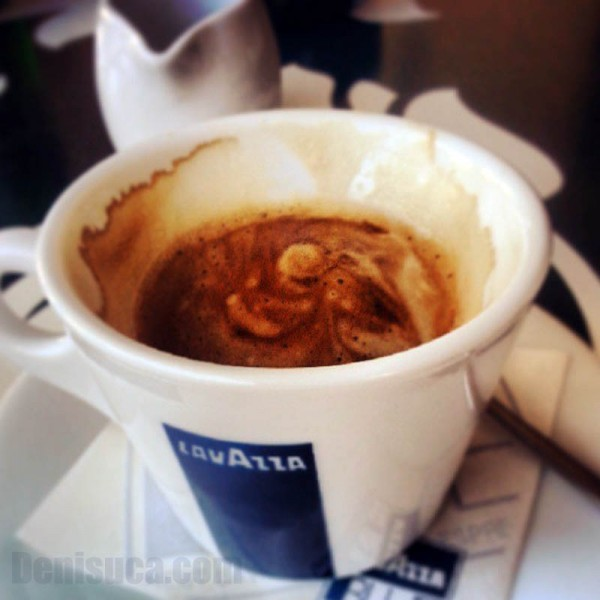 Cafea Lavazza pe Instagram