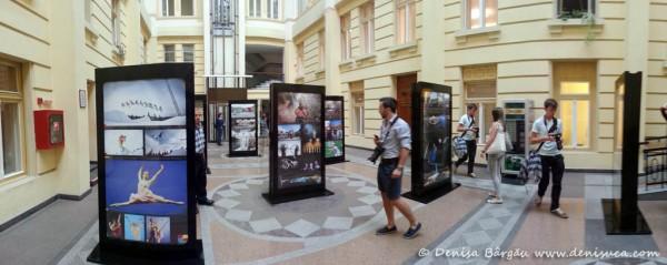 Prin Sibiul meu 2013: expoziţie foto în curtea interioară a Primăriei Sibiu