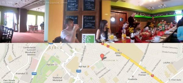 Prin Sibiul meu 2013 - Restaurantul cu specific unguresc Judith Bistro