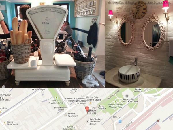 Prin Sibiul meu 2013 - Salut Cafe, pe strada Cetăţii