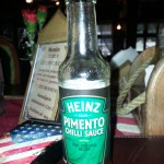 Heinz Pimento chilli sauce