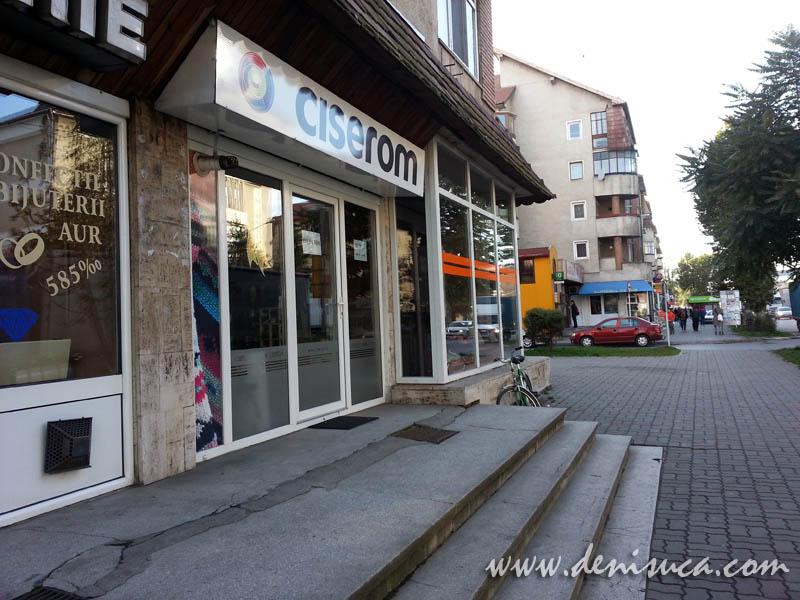 Magazin de prezentare CISEROM Sebeş