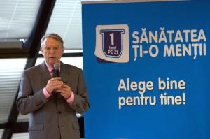 Prof. Dr. Nicolae Hâncu, Preşedintele de Onoare al Federaţiei Române de Diabet, Nutriţie şi Boli Metabolice