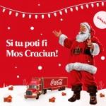 Coca-Cola: Şi tu poţi fi Moş Crăciun!