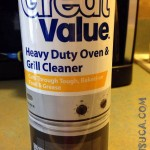 SUA: Great Value Heavy duty oven and grill cleaner