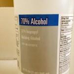 SUA: Rubbing alcohol