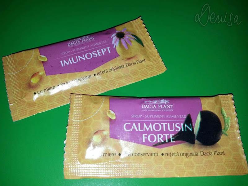 Siropuri la plic de la Dacia Plant: Imunosept şi Calmotusin Forte