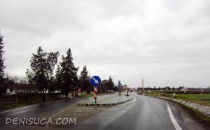 Insulă de calmare pe drumul Arad-Oradea