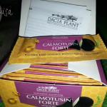 Pliculeţele de sirop Calmotusin Forte de la Dacia Plant în cutie