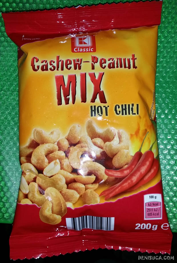 mix de caju & arahide cu chili k-classic de la kaufland