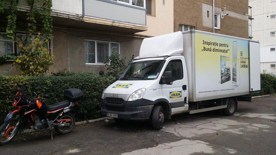 camionul ikea