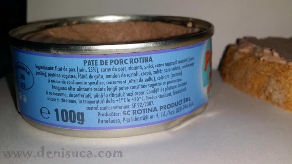 pateu rotina ingrediente