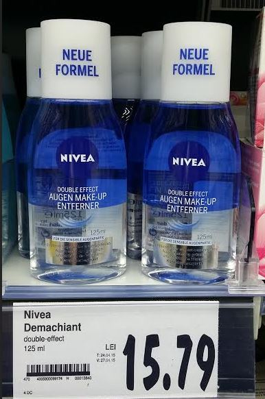 demachiant nivea double effect kaufland