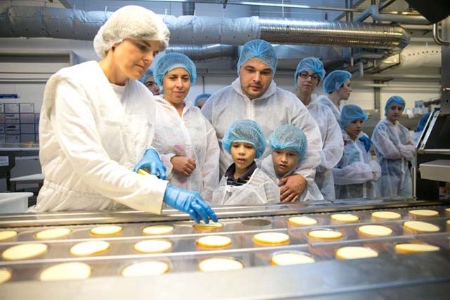 in vizita la fabrica de cascaval Hochland august 2015 09