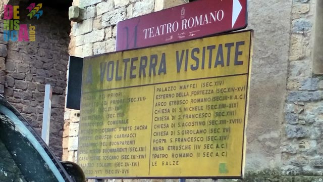 De vizitat în Volterra