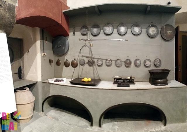 Bucătăria palatului