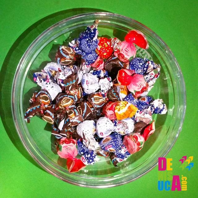bomboane multe bucurie mare