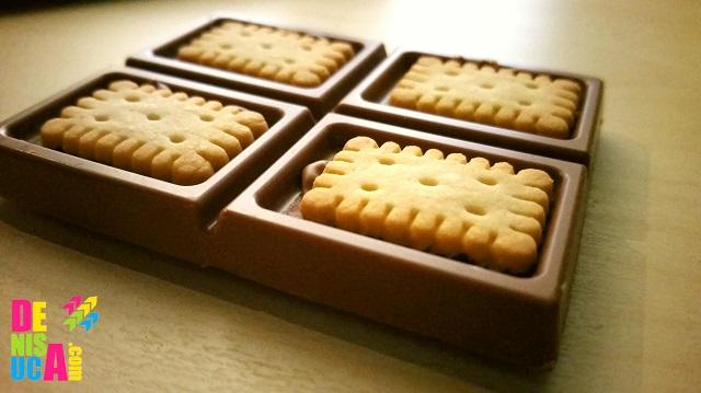 milka cu biscuiti