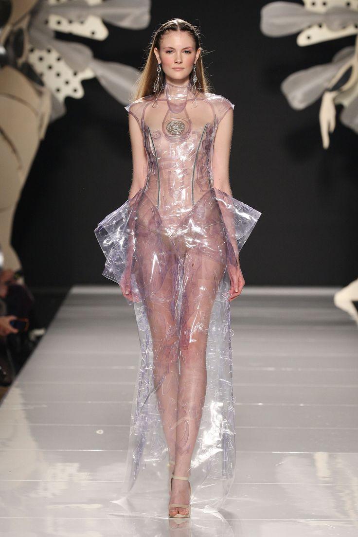 rochie transparenta