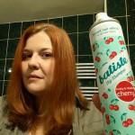 Am mai testat o dată șamponul uscat Batiste