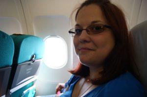 Primul meu zbor cu avionul: Austrian Airlines, București-Viena