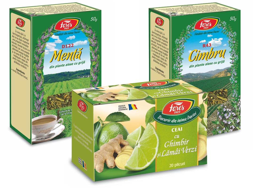 Ceaiuri de la Fares numai bune pentru desfundarea nasului